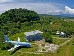 area desa wisata kalipancur dengan restoran pesawat bekas