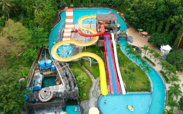 area kolam dan wahana