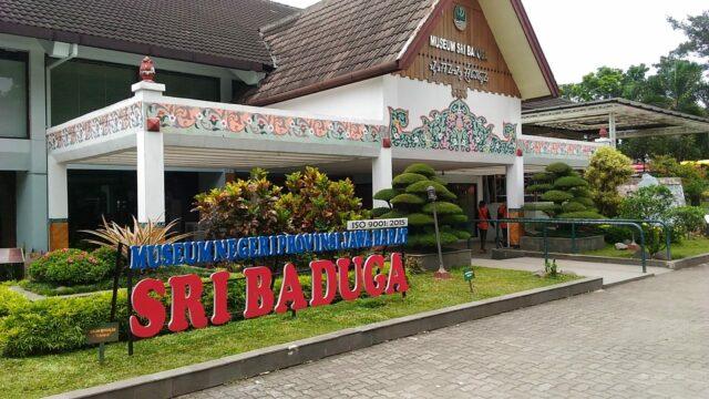 Bagian depan Museum Sri Baduga Bandung