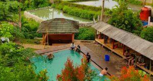 berbagai jenis kolam pemandian air panas