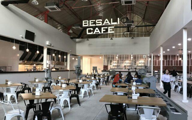 Besali Cafe, salah satu kafe di De Tjolomadoe