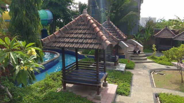 Gazebo di Nirmala Waterpark Ungasan Bali