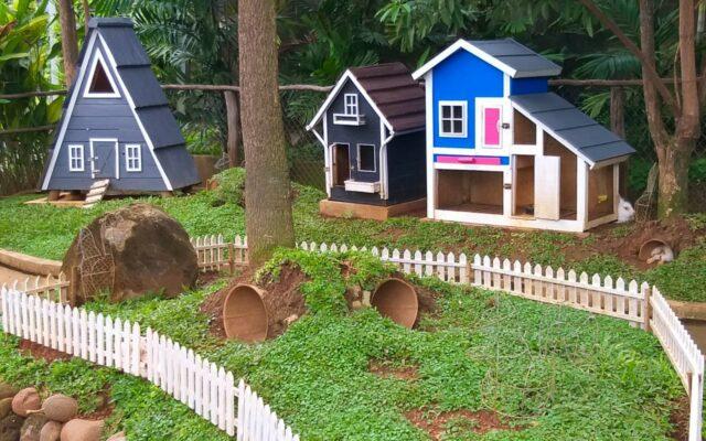 wahana kampung mini yang lucu