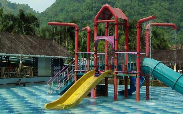 Kolam anak di Kolam Renang Tirta Indah Majalengka
