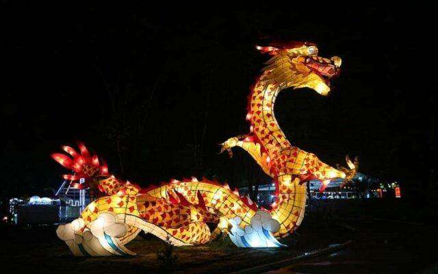 Lampion berbentuk Naga