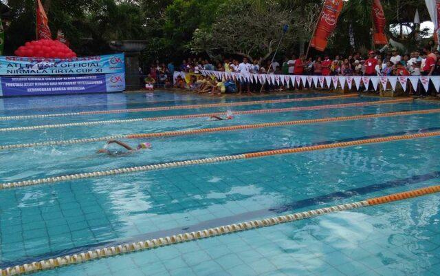 Olympic Pool di Nirmala Waterpark Ungasan Bali