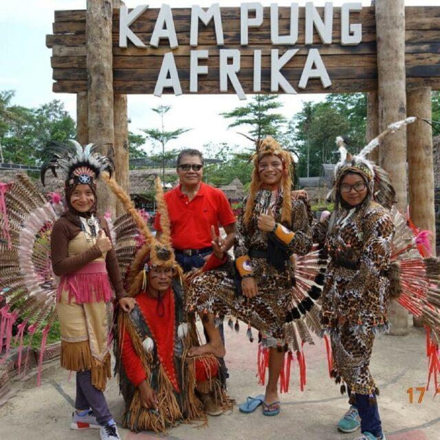 Pintu Masuk Kampung Afrika Blitar Jawa Timur
