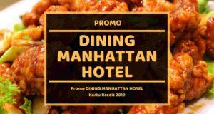 Promo Dining Manhattan Hotel