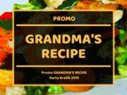 Promo Grandma's Recipe