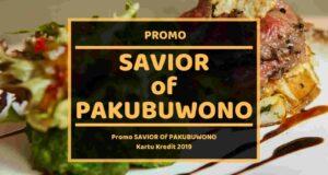 Promo Savior Of Pakubuwono