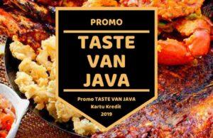 Promo Taste Van Java Surabaya