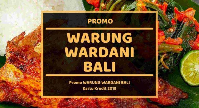 Promo Warung Wardani Bali