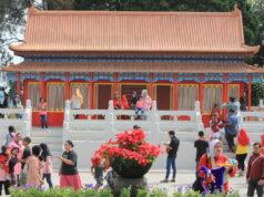 Spot Foto dengan Nuansa Kuil di China di Javenir Park Taman Balekambang Tawangmangu