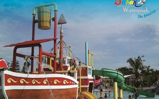 Wahana Kiddy Pool di Gerbang Mas Bahari Waterpark Tegal Jawa Tengah