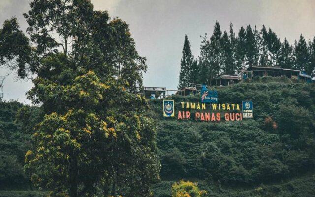 Kawasan Wisata Air Panas Guci Tegal Jawa Tengah