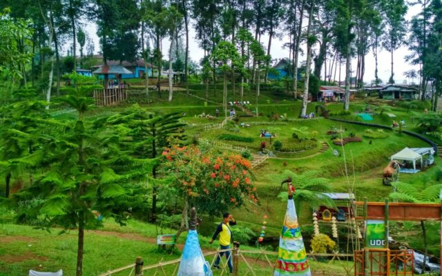 kawasan wisata kebun teh pagilaran