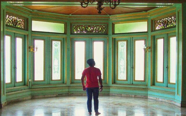 bagian dalam Keraton Surakarta Hadiningrat Solo Surakarta Jawa Tengah