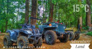 ATV dan Jeep di Mojosemi Forest Park