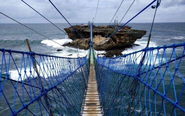 Jembatan gantung ekstrem