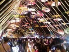 Pengunjung Pasar Malam Ngarsopuro
