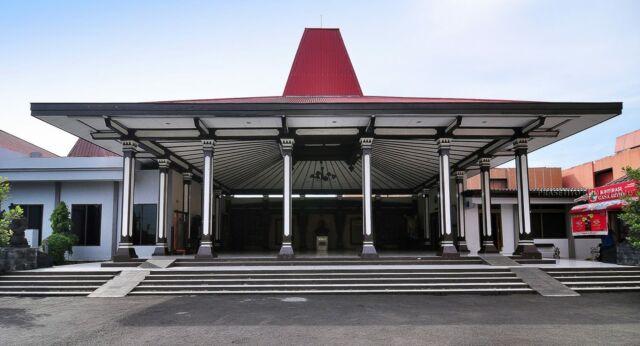Bangunan museum dari luar