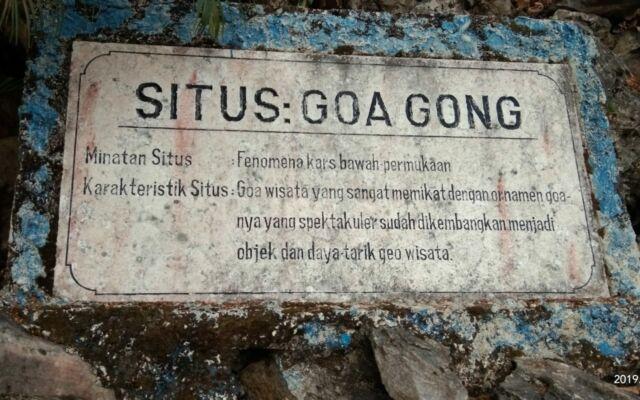 prasasti informasi tentang goa gong