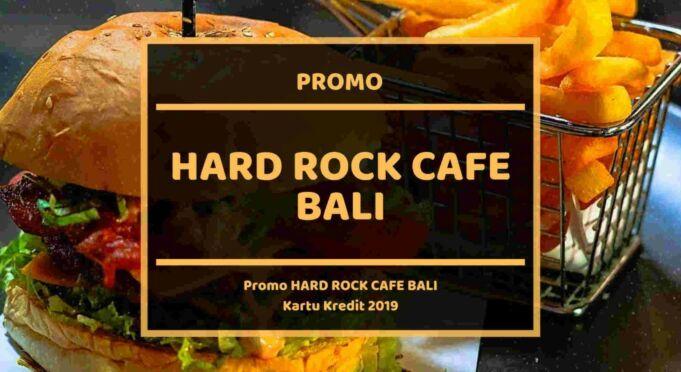 Promo Hard Rock Cafe Bali