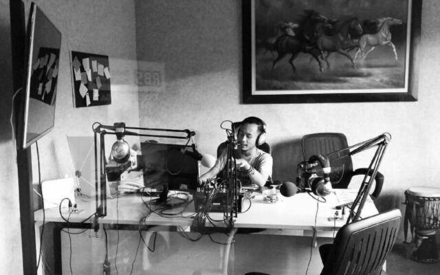 Radio Binaswara di Taman Pemuda Pratama Depok