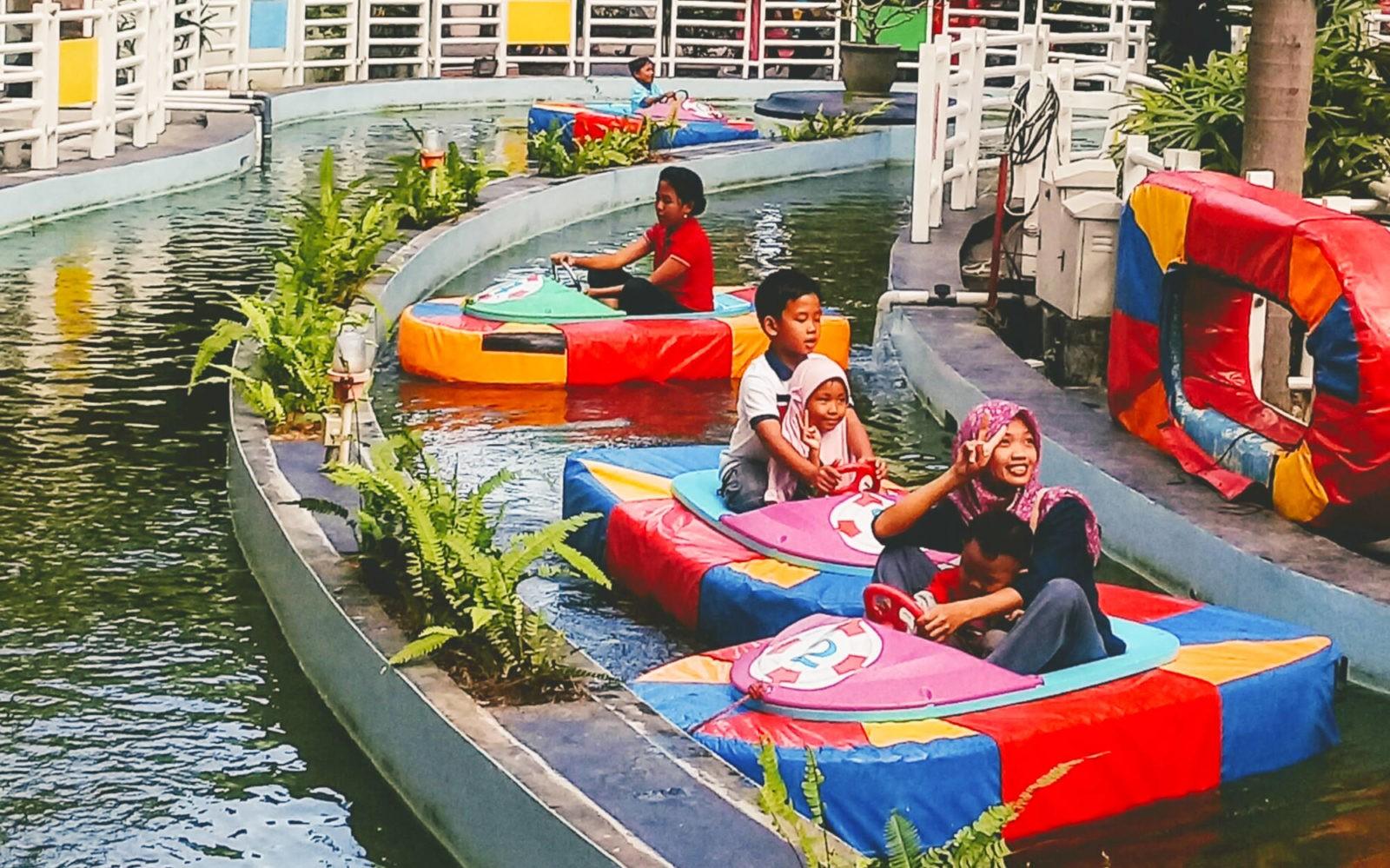 wisata perahu di jogja TAMAN PINTAR Yogyakarta Tiket Wahana Desember 2019