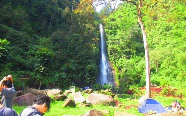 area camping ground curug cijalu