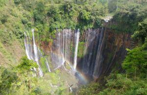lanskap kawasan wisata air terjun tumpak sewu