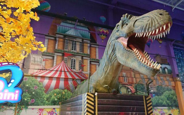 ornamen dinosaurus