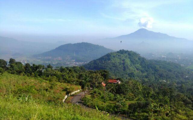 pemandangan alam pegunungan kampung toga Sumedang