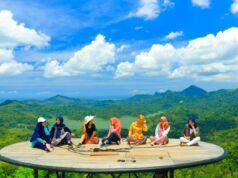 Spot foto dengan keindahan pesona alam dan gunung