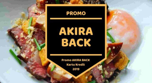 Promo Akira Back