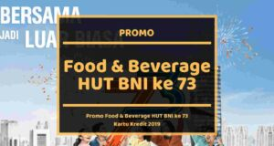 Promo Food and Beverage HUT BNI ke 73