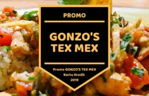 Promo Gonzo's Tex Mex