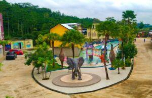 area taman rekreasi river walk boja kendal