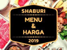 Shaburi Menu dan Harga 2019