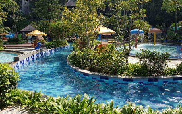 kolam arus di SKI Bogor