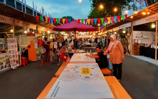 jejeran warung wisata kuliner taman bambangan