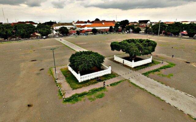 napak tilas alun-alun utara yogyakarta