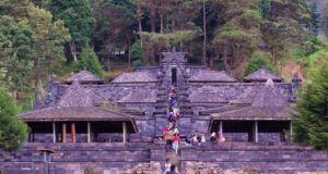 area kawasan komplek wisata candi