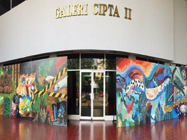 Galeri Cipta tempat dilangsungkan pameran seniman