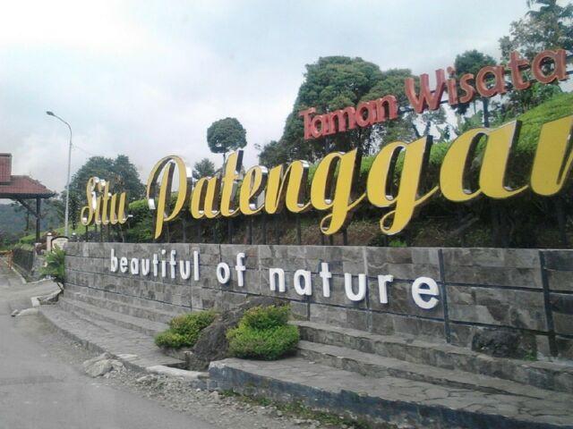 Gerbang masuk wisata Situ Patenggang , Bandung