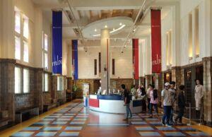 bagian interior museum bank indonesia