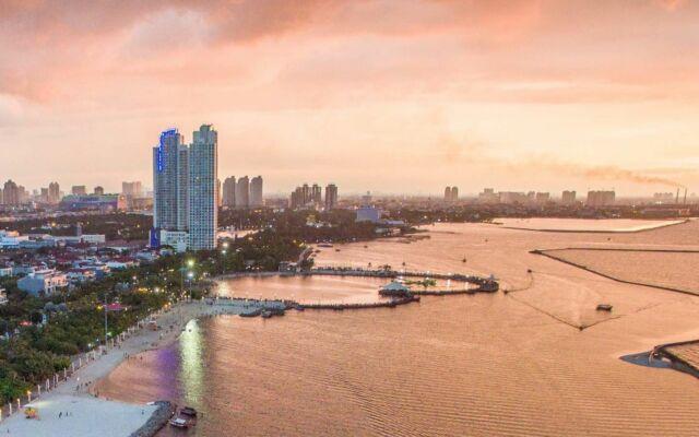 Kawasan wisata Pantai Ancol Jakarta Utara