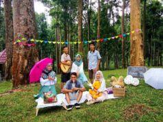 Kebun Raya Baturraden menjadi pilihan bagi wisatawan yang ingin berpiknik santai di Baturraden, Banyumas