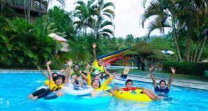 Salah satu kolam bermain di Cafles Waterpark