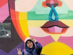 Mural bernilai seni dan penuh warna memberi wajah baru bagi Taman Ismail Marzuki Jakarta Pusat